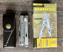 Leatherman Crunch. Collectible, Vintage Multitool with old d