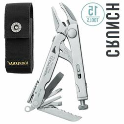Leatherman - Crunch Multi-Tool, Stainless Steel with Nylon S
