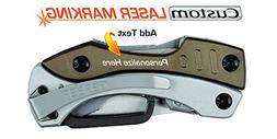Custom Laser Engraved Multi Tool Pliers - Gerber Crucial Gra