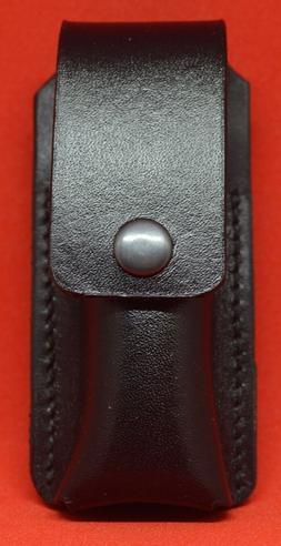 Custom Leather Black Case/Sheath for the Leatherman Wave/Wav