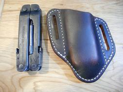 Custom Leatherman Super tool 300 Buffalo leather quick draw
