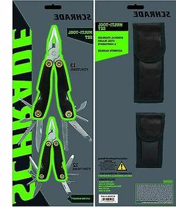 Schrade Cutlery Multi Tool Gift Set of Two Tools, Small & La