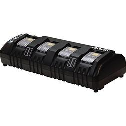 Makita DC18SF 18V Lithium-Ion Rapid Optimum 4-Port Charger,