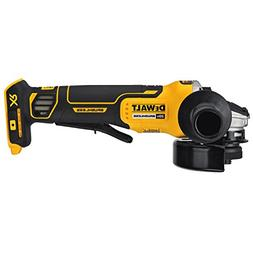 "Brand New DEWALT DCG413B 20V MAX 4-1/2"" Brushless Paddle Swi"