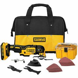 DeWalt DCS355D1 20V MAX XR Lithium Ion Oscillating Multi-Too