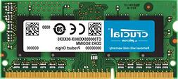 Crucial 8GB DDR3L 1600 MHz PC3-12800 SODIMM 204 pin Laptop M