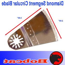 Diamond Segment Circular Grout Tile Cut Oscillating Multi To
