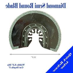 Diamond Semi Round Blade Oscillating Multi Tool For Fein Bos