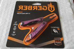 Gerber Dime Multi-Tool Purple Black Plier Scissors Knife Cam