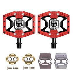 CRANKBROTHERs Double Shot 3 Bike Pedals Pair  with Premium C