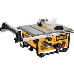 DEWALT DW745 10-Inch Compact Job-Site Table Saw with 20-Inch