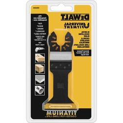 DEWALT Dwa4204 Wide Titanium Oscillating Wood with Nails Bla