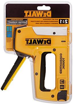 DEWALT DWHTTR350 Heavy Duty Staple and Brad Tacker