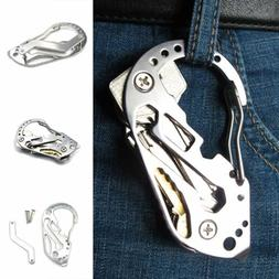 EDC Gear Stainless Multi Tools Keychain Screwdriver Wrench C