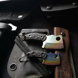 EDC Mini Titanium Pocket Key Chain G10 Handle Outdoor Surviv