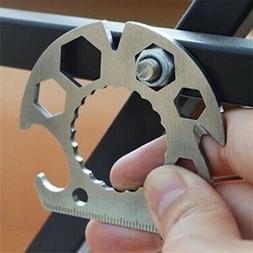 EDC Multi Tools Screwdriver Hex Wrenches Bottle Opener Rope