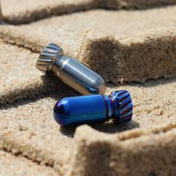 EDC Titanium Multi Tools Waterproof Portable Medicine Bottle