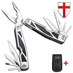 EDC Multitool Knife, Pliers, Screwdriver Set of 11 Features