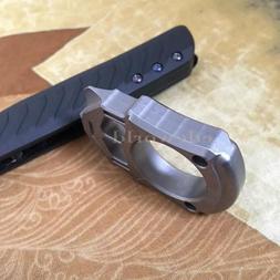 EDC Outdoor Titanium TC4 Ceramic Bead Survival Defense Keych