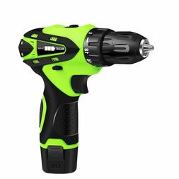 Electric Drill Rechargeable Multi Functional Cordless Power