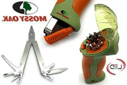 Mossy Oak Expedition Multi-Tool With Flashlight and Driver B