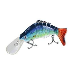 ROSE KULI Fishing Bass Lures Multi Jointed Topwater Life-Lik