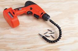 Flexible Drill Bit Extension - Magnetized Screwdriver Bit Ho