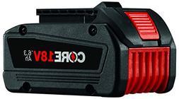 BOSCH GBA18V63 18V 18 Volt Li-Ion 6.3 AH Core 18V Battery Pa