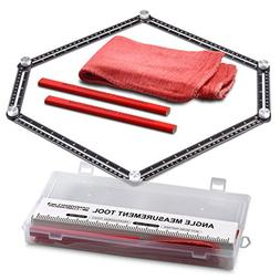 Handyman's Companion- Angle Ruler-Angle Measurement Tool Kit