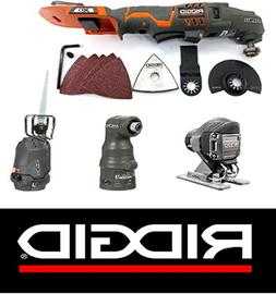 Ridgid 18 Volt Jobmax Multi-Tool, Power Handle, Impact, Saws