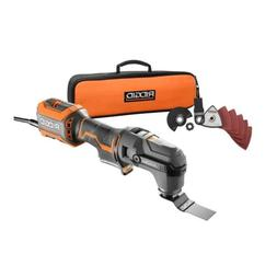 RIDGID JobMax 4 Amp Oscillating Blade Power Multi-Tool with