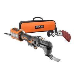 RIDGID JobMax 4 Amp Oscillating Blade Power Multi-Tool with