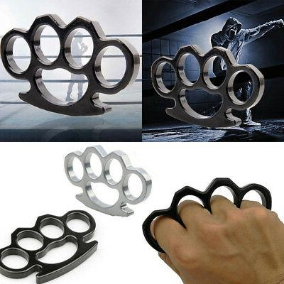 1/2Pcs Knuckles Hand Four Alloy Self-Defense EDC