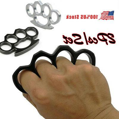 1 2pcs knuckles ring hand four finger