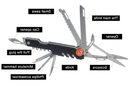 AceCamp 11 in Multi Tool Folding Pocket Swis