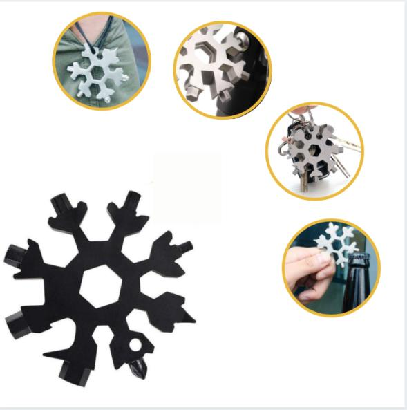 18 in Snowflake Multi Tool