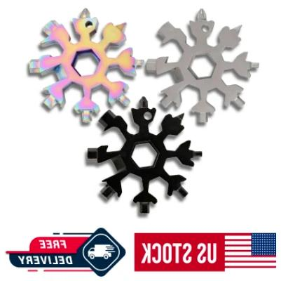 18 in 1 portable snowflake multi tool