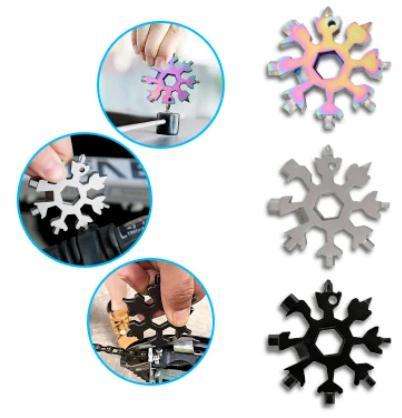18 in 1 Snowflake Multi Tool Tool
