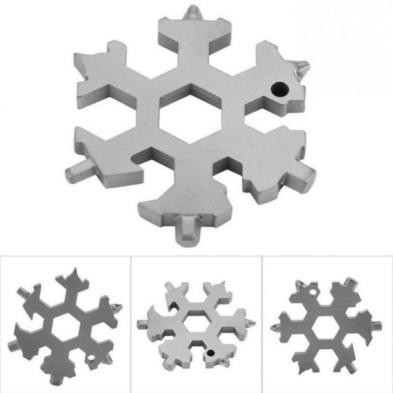 Steel Snowflake Shape Flat Cross Head
