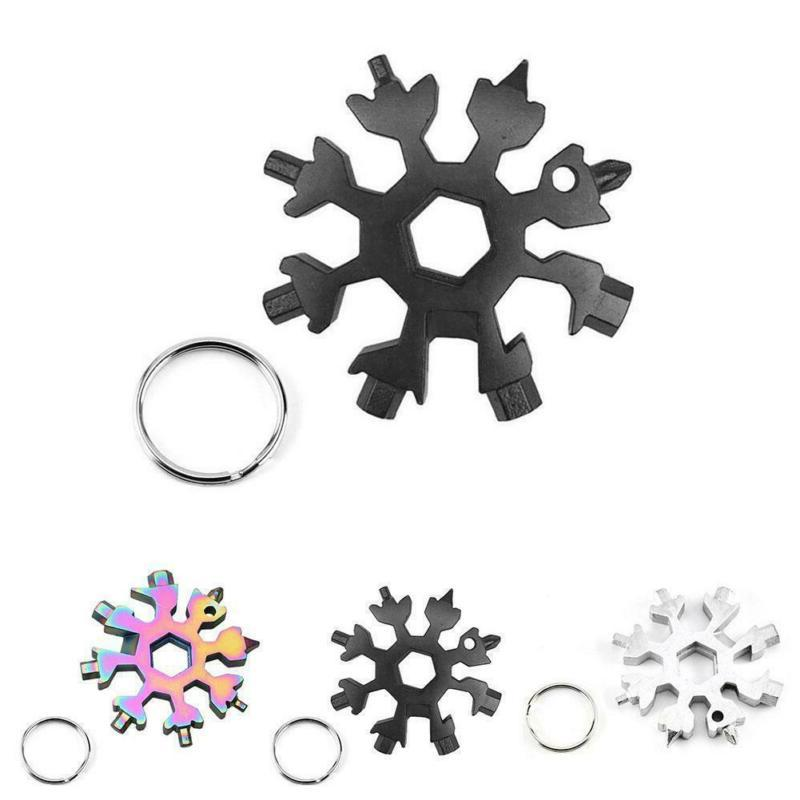 18 in1 multi tool stainless steel snowflake