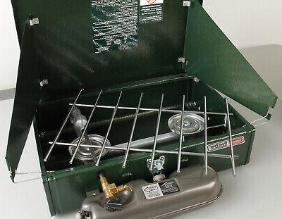 2 burner dual liquid fuel