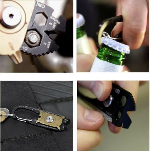 20-in-1 Keychain Emergency Survival
