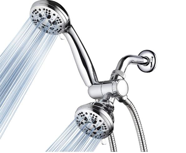 28 setting combo shower head