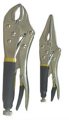 2pc Multi vice grip locking plier set Panel Beaters Welders