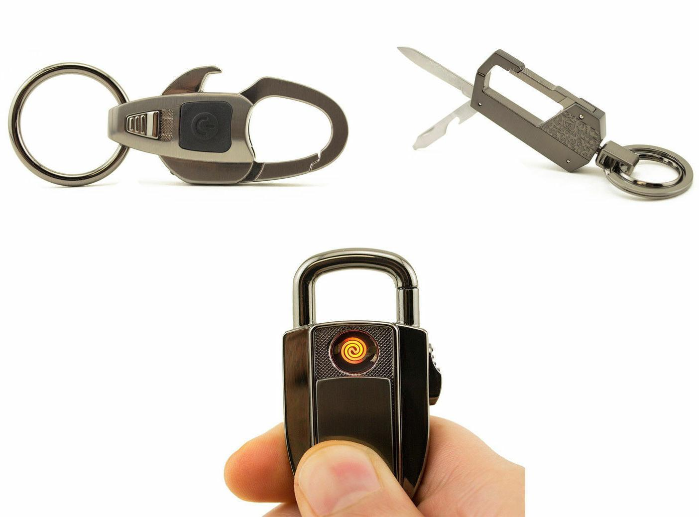 3pk multi functional keychains camping portable multi