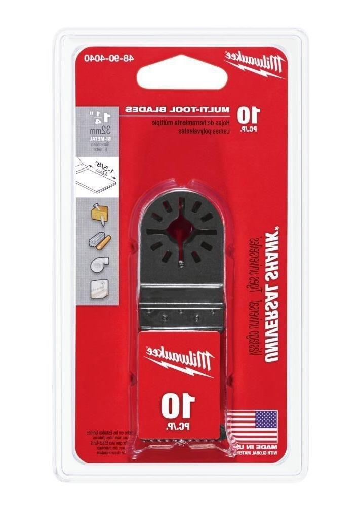 Milwaukee 48-90-4040 Bi-Metal Multi-Tool Blade 1-1/4 in. 10