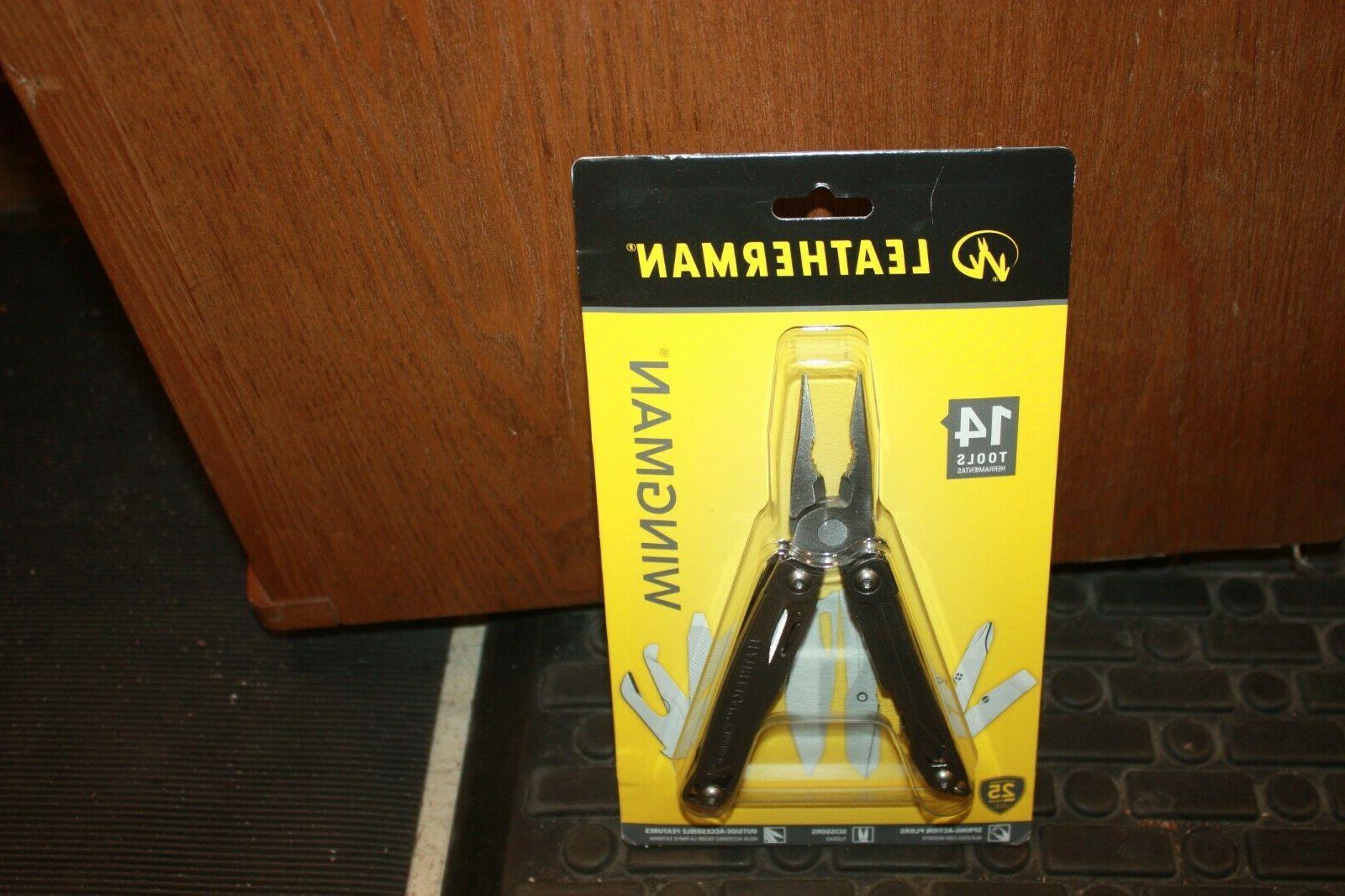 831425 wingman multi tool w sheath silver