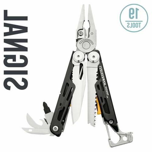 Leatherman 832189 Signal Multi-Tool with Sharpener, Whistle,
