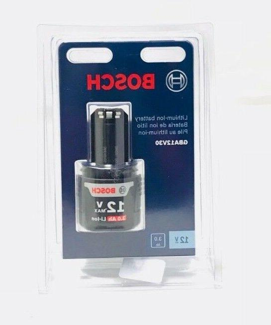 Bosch GBA12V30 12V Max 3.0 Lithium-Ion New