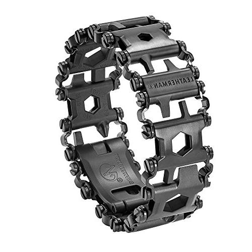 Leatherman Bracelet, The Travel Friendly Wearable Black